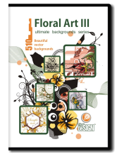 Floral Art III Backgrounds