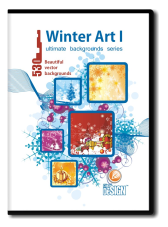 Winter Art I Backgrounds